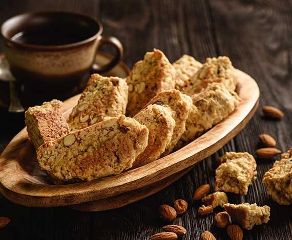 Cafés et biscuits