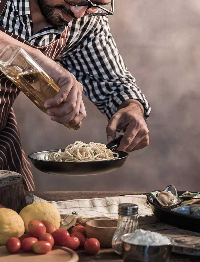 La passion de la cuisine italienne