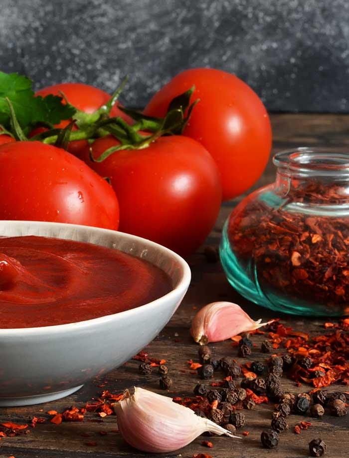 Sauces, épices, sel, poivre…